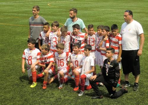 Benjamins A SJVer campeões torneio Joãozinhos cup 2017