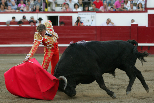 Moreno e o seu toureio honesto...