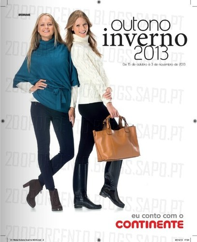 Novo Folheto | CONTINENTE | Outono / Inverno 2013, até 3 Novembro