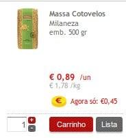 Acumulação Super-Preço + 50% | CONTINENTE |