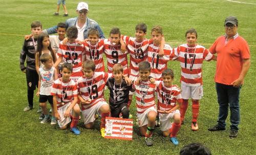 Infantis B campeões Torneio Joãozinhos Cup 2017 SJVer