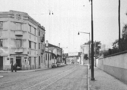 Estrada de Benfica Lisboa (A.I.Bastos, 1961)