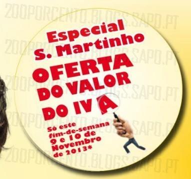 Novo Folheto | BRICOMARCHÉ | Leiria especial S. Martinho - Oferta do valor do iva este fim de semana