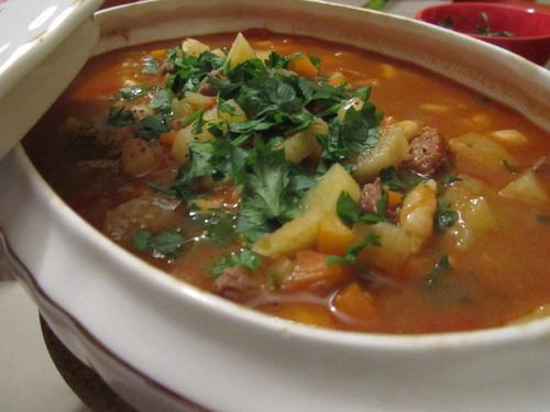sopa húngara goulash
