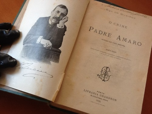 O Crime do Padre Amaro (Eça de Queiroz, Porto, Chardron, 1901)