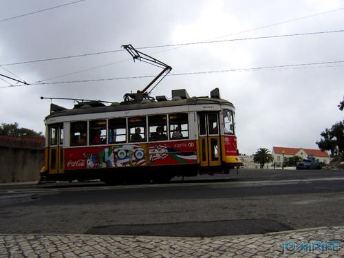 Lisboa - Eléctrico da Ajuda (1) [en] Lisbon - Electric train of Ajuda