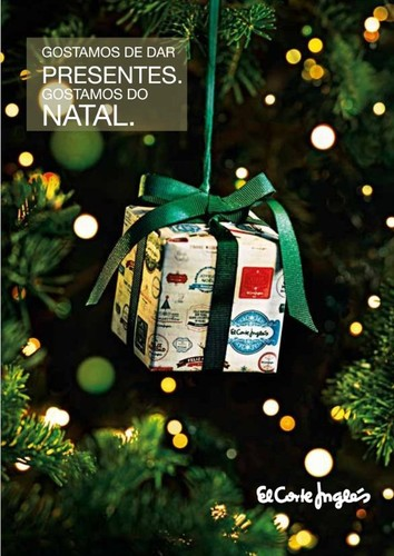 Novo folheto | EL CORTE INGLÉS | Gostamos de dar presentes