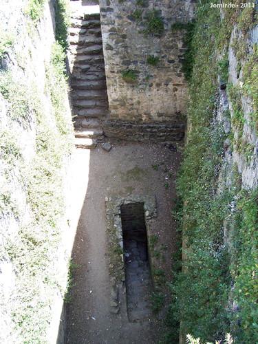 Castelo de Bragança: Túnel de passagem do rei