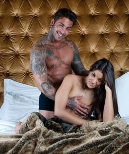 Carlos_Sousa e Lu foto publicada na revista TVMais