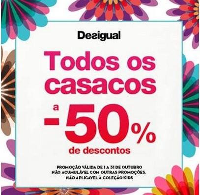50% Desigual | FREEPORT | em Casacos