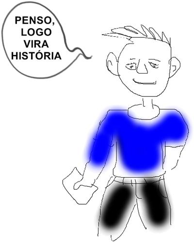 PENSO,LOGO VIRA HISTORIA/CULTURA/PENSAR