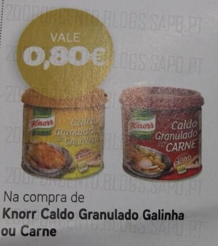 Acumulação 50% + Vale | PINGO DOCE | Knorr, de 3 a 9 dezembro