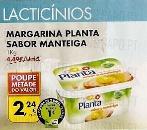 Planta Sabor a Manteiga Poupe Metade e desconto 1€