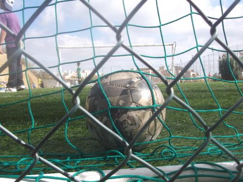 A bola no fundo das redes FotoJcandeias