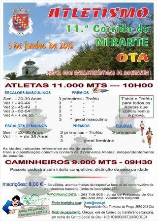 11.ª Corrida do Mirante 2012