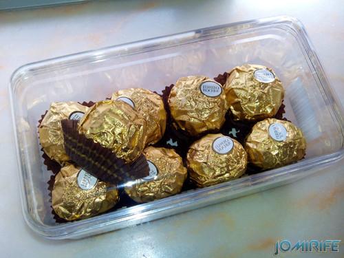 Caixa de Ferrero Rochers | Box of Ferrero Rochers