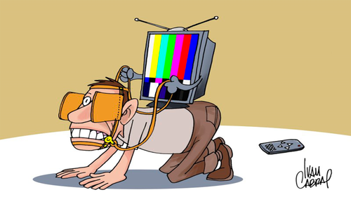 Manipulação Televisão