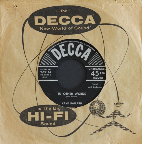 Kaye_Ballard_In_Other_Words_Decca_Records_Inc._Cat