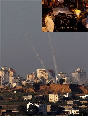 Rockets do Hamas contra Israel