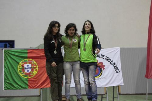 Olga Mendes - Campeã Nacional Juniores Senhoras Recurvo
