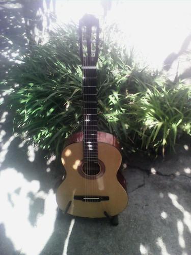 Limpeza da guitarra classica Hohner