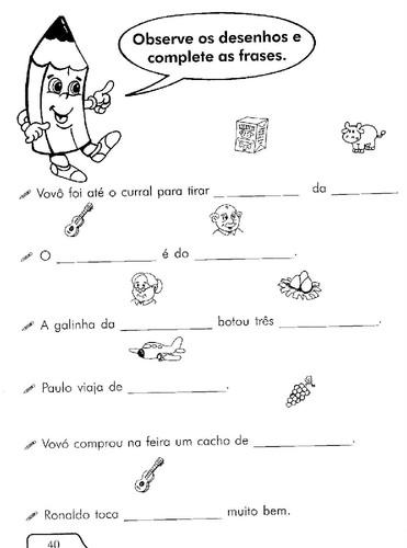 Fichas De Trabalho 1º E 2º Ano Língua Portuguesa Parte 3 O Mundo