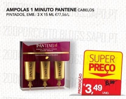 Acumulação Super-Preço + Vale | CONTINENTE | Pantene