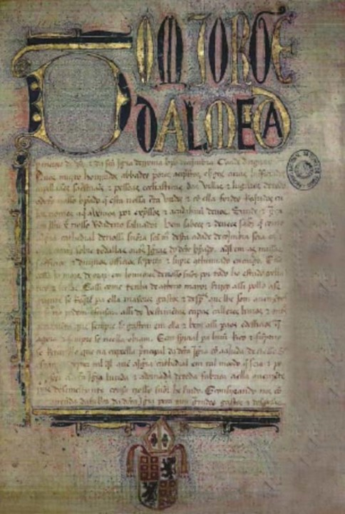Documento com as armas de D. Jorge.jpg