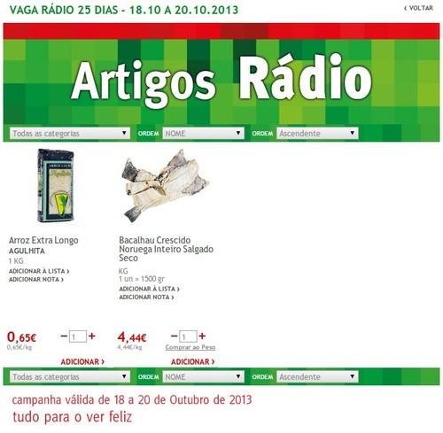 Artigo Rádio | JUMBO | de 18 a 20 Outubro