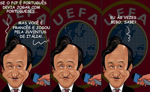 Platini não é adepto do FCP