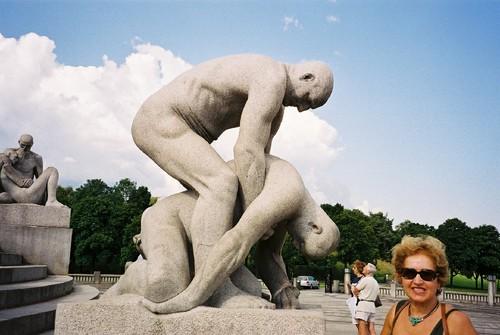 Oslo, Vigelandsparken, Escultor: Gustav Vigeland