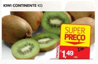 Acumulação Super Preço + 50% | CONTINENTE | kiwi