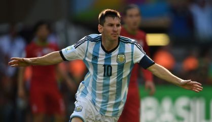Messi salvou a Argentina