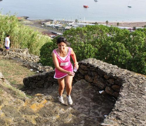 Fabíola Landeiro pulverizou o seu recorde feminino...