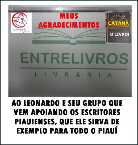 AGRADECIMENTOS A ENTRELIVROS/LEO