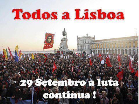 29 de Setembro, todos a Lisboa
