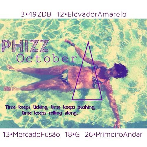PhiZz [ Agenda de Outubro ]