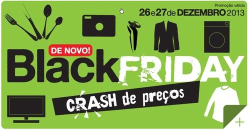 Black Friday | EL CORTE INGLÉS | dias 26 e 27 dezembro