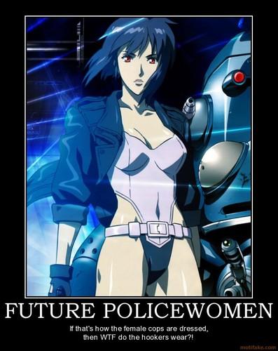 Future Policewoman