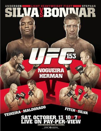 UFC 153: Silva vs Bonnar HDTV 2012