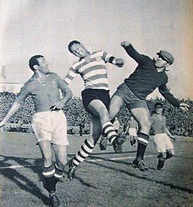 Sporting-Belenenses 1950-51 M. Wilson e Sério.jpg