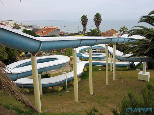 Aquaparque Teimoso na Figueira da Foz (4) Escorregas [en] Teimoso Aqua park in Figueira da Foz Portugal