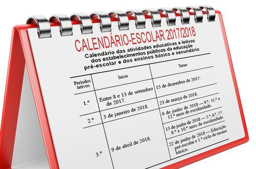 Calendário Períodos Escolares 2017-2018