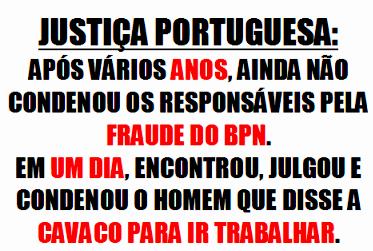 A justiça Portuguesa