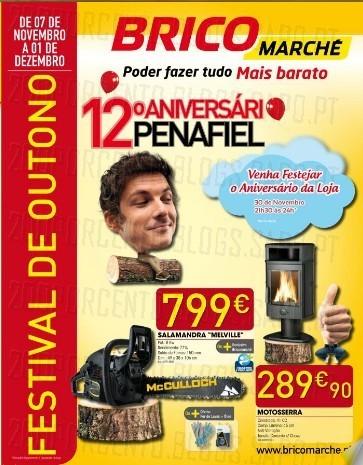 Novo Folheto | BRICOMARCHÉ | Penafiel especial Aniversário, de 7 novembro a 1 dezembro