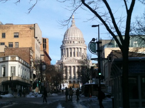 Capitol em Madison