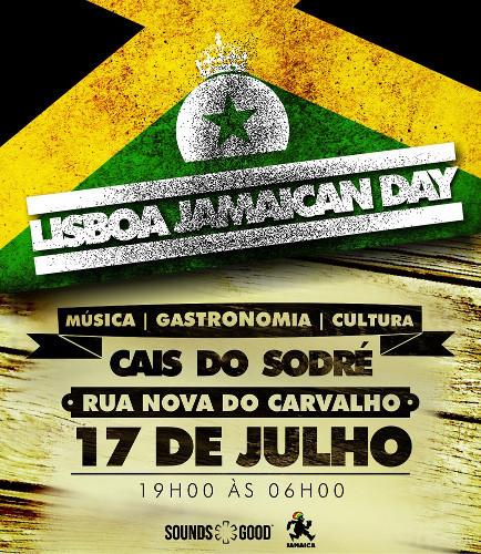 Cais do Sodré recebe Lisboa Jamaican Day a 17 de julho