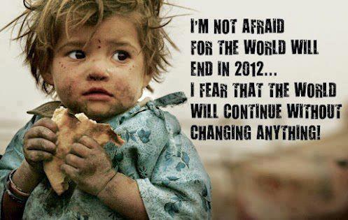 Não tenho medo que o mundo acabe