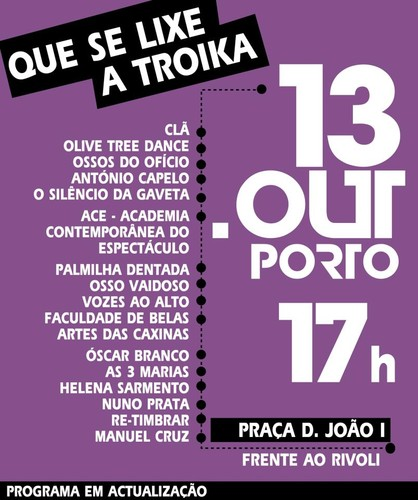 Que se lixe a Troika no Porto