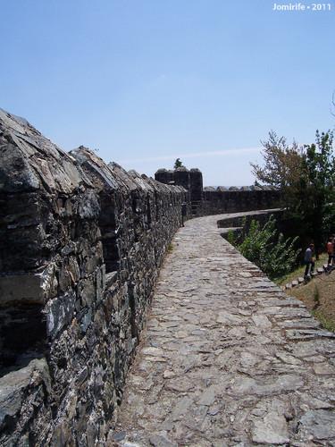 Castelo de Bragança: Na muralha
